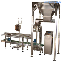 Heavy Bag Woven Bag 25kg Bag Packaging Machine with Balance China Manufacture