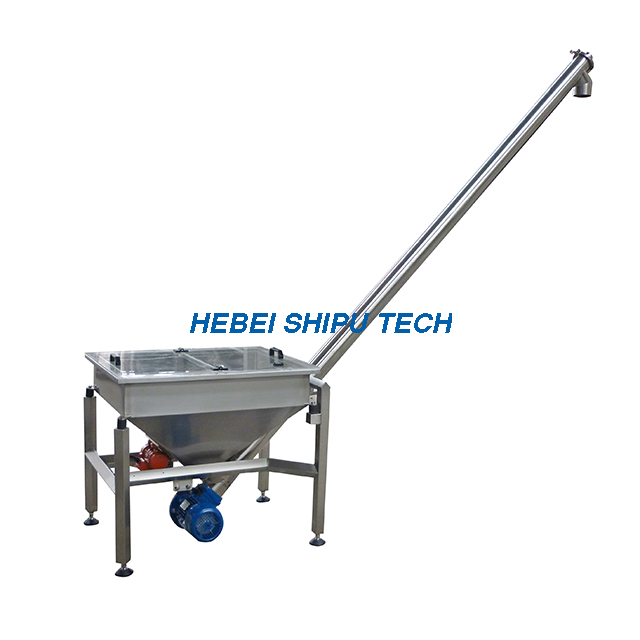 Horizontal & Inclined Screw Feeder China Manufacturer
