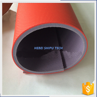Red Grid Grain Indoor Pvc Sports Flooring China Manufacturer