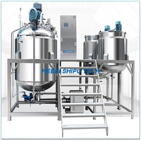 SS316 SS304 Food Grade Emulsification Tank Homogenous Mixer China Manufacturer