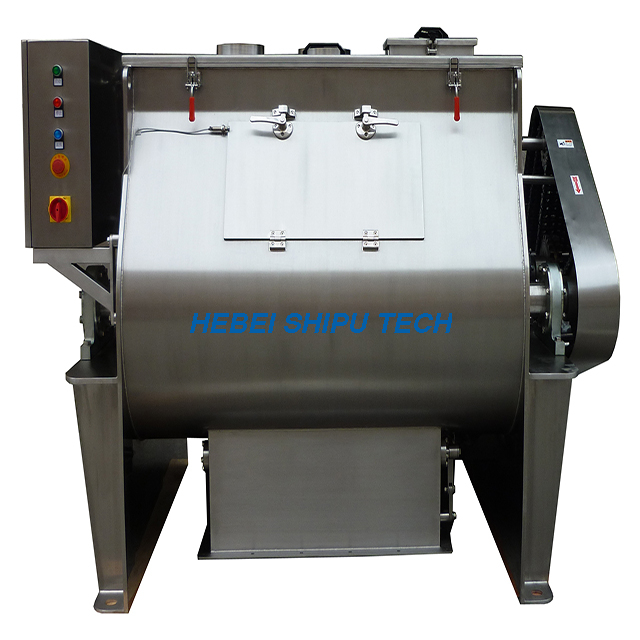 Milk Powder Double-shaft Paddle Mixer China Manufacturer