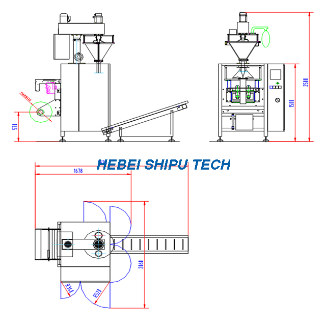 Milk Powder Packing Machine Chicken Powder Packaging Machine Albumen Powder Packing Machine China Factory