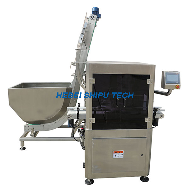 Automatic High Lid Capping Machine Plastic Cover Capper China Factory